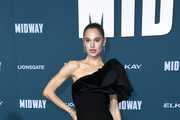"""Meredith Mickelson attends the premiere of Lionsgates' """"Midway"""" at Regency Village Theatre on November 05, 2019 in Westwood, California."""