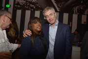 Chaz Ebert and Steve James attend the after-party of Magnolia Pictures' 'Life Itself' at Warwick on June 26, 2014 in Hollywood, California.