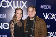 Mona Lerche (L) and Brady Corbet attends the premiere of Neon's 'Vox Lux' at ArcLight Hollywood on December 05, 2018 in Hollywood, California.