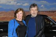 """Marilou York and Mark Hamill attend the premiere of Netflix's """"El Camino: A Breaking Bad Movie"""" at Regency Village Theatre on October 07, 2019 in Westwood, California."""