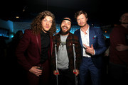 """(L-R) Blake Anderson, Chris Pontius and Anders Holm attend the premiere of the Netflix film """"Game Over, Man!"""" at the Regency Village Westwood in Los Angeles at Regency Village Theatre on March 21, 2018 in Westwood, California."""