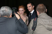 """Actress Eleanor Tomlinson (L) and actor Nicholas Hoult attend the Premiere Of New Line Cinema's """"Jack The Giant Slayer"""" at the TCL Chinese Theatre on February 26, 2013 in Hollywood, California."""