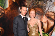 """Actors  Nicholas Hoult (L) and Eleanor Tomlinson attend the premiere of New Line Cinema's """"Jack The Giant Slayer"""" at TCL Chinese Theatre on February 26, 2013 in Hollywood, California."""