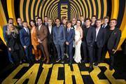 "Cast and producers of ""Catch-22"" attend the premiere of Hulu's ""Catch-22"" on May 07, 2019 in Hollywood, California."