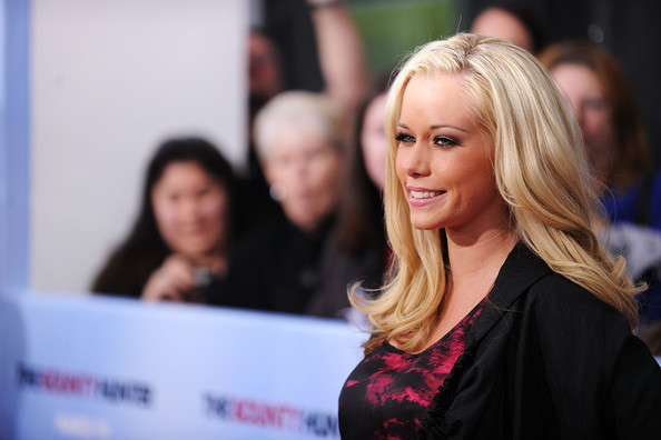 "Model Kendra Wilkinson attends the premiere of ""The Bounty Hunter"" at Ziegfeld Theatre on March 16, 2010 in New York, New York City."