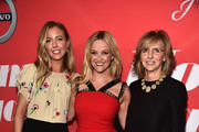 """Writer/director Hallie Meyers-Shyer, actor Reese Witherspoon and producer  Nancy Meyers attend the premiere of Open Road Films' """"Home Again"""" at the Directors Guild of America on August 29, 2017 in Los Angeles, California."""