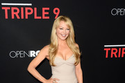 "Actress Charlotte Ross attends the premiere of Open Road's ""Triple 9"" at Regal Cinemas L.A. Live on February 16, 2016 in Los Angeles, California."