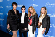 "Kris Jenner; Kyle Richards; Faye Resnick and Teddi Mellencamp Arroyave attend Premiere Of Paramount Network's ""American Woman"" - Arrivals at Chateau Marmont on May 31, 2018 in Los Angeles, California."