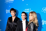 "Kris Jenner, Kyle Richard and Faye Resnick attend Premiere Of Paramount Network's ""American Woman"" - Arrivals at Chateau Marmont on May 31, 2018 in Los Angeles, California."