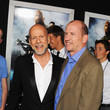 Bruce Willis and Rob Moore Photos