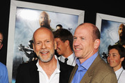 Bruce Willis and Rob Moore Photos Photo