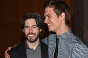Director Jason Reitman and actor Ansel Elgort attend the after party for the premiere of Paramount Pictures' 'Men, Women & Children' at The Directors Guild Of America on September 30, 2014 in Los Angeles, California.