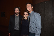 Director Jason Reitman,actress Kaitlyn Dever and actor Ansel Elgort attend the after party for the premiere of Paramount Pictures' 'Men, Women & Children' at The Directors Guild Of America on September 30, 2014 in Los Angeles, California.