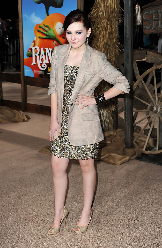 Abigail Breslin In Premiere Of Paramount Pictures Quot Rango