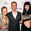James Van Der Beek and Dreama Walker Photos