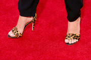 Actress Schuyler Fisk (shoe detail) attends the premiere of Relativity Studios' 'The Best Of Me' at Regal Cinemas L.A. Live on October 7, 2014 in Los Angeles, California.
