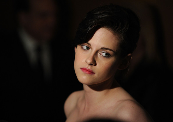 "Actress Kristen Stewart attends the premiere of ""The Runaways"" at Landmark Sunshine Cinema on March 17, 2010 in New York City."
