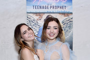 """Bailee Madison and Peyton List arrive at the after party for the Premiere Of SP Releasing And Sepia Films' """"Anthem Of A Teenage Prophet"""" at The Parker Room on January 10, 2019 in Hollywood, California."""