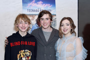 """Phoenix List, Spencer List, and Peyton List arrive at the after party for the Premiere Of SP Releasing And Sepia Films' """"Anthem Of A Teenage Prophet"""" at The Parker Room on January 10, 2019 in Hollywood, California."""