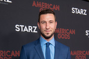 Pablo Schreiber arrives at the premiere of STARZ's 'American Gods' Season 2 at Ace Hotel on March 05, 2019 in Los Angeles, California.