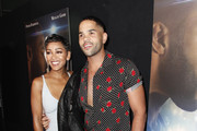 Meagan Good and Dijon Talton attend the Premiere Of A Boy. A Girl. A Dream.' at ArcLight Hollywood on September 11, 2018 in Hollywood, California.