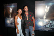 """Actress Meagan Good (L) and actor Dijon Talton attend the premiere of Samuel Goldwyn Films' """"A Boy. A Girl. A Dream."""" at the ArcLight Hollywood on September 11, 2018 in Hollywood, California."""