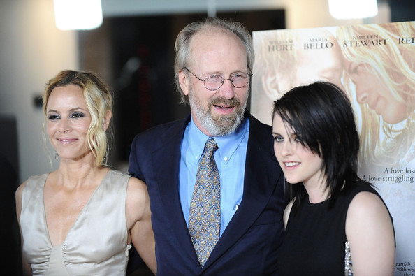 Actors Maria Bello, William Hurt and Kristen Stewart attend the