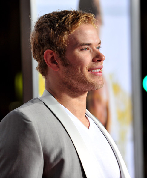 Actor Kellan Lutz arrives at the premiere of Screen Gem's