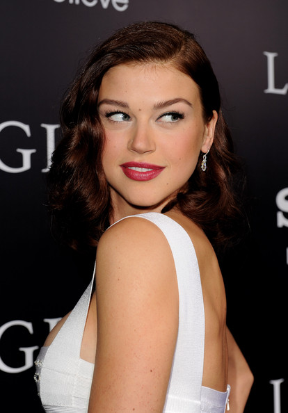 Adrianne+Palicki in Premiere Of Screen Gems'