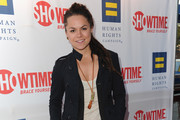 """TV personaltiy Whitney Mixter arrives to the premiere of Showtime's """"The Real L Word"""" on June 1, 2011 in West Hollywood, California."""