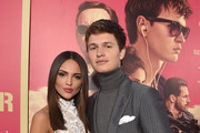 "Actors Eiza Gonzalez and Ansel Elgort attend the premiere of Sony Pictures' ""Baby Driver"" at Ace Hotel on June 14, 2017 in Los Angeles, California."
