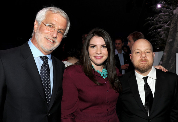 "Summit Entertainment President Rob Friedman, writer Stephanie Meyer and director David Slade attend the after party for the premiere of Summit Entertainment's ""The Twilight Saga: Eclipse"" during the 2010 Los Angeles Film Festival at the L.A. Live Event Deck on June 24, 2010 in Los Angeles, California."