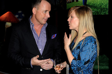 """David Furnish Ashley Jensen Premiere Of Touchstone Pictures' """"Gnomeo And Juliet"""" - After Party"""