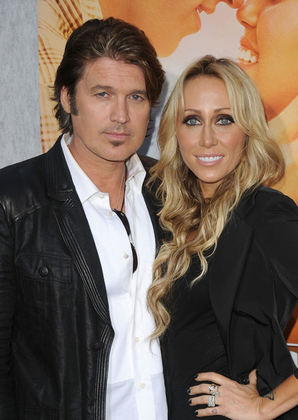 Tish Cyrus Billy Ray Cyrus and Tish Cyrus arrive at the