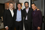"(L-R) Bill Pullman, Charlie Gogolak, Derek Simonds and Matt Bomer pose for portrait at the Premiere of USA Network's ""The Sinner"" Season 3 on February 03, 2020 in West Hollywood, California."
