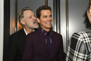"(L-R) Bill Pullman and Matt Bomer pose for portrait at the Premiere of USA Network's ""The Sinner"" Season 3 on February 03, 2020 in West Hollywood, California."