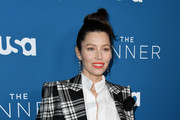 "Jessica Biel attends the premiere of USA Network's ""The Sinner"" Season 3 at The London West Hollywood on February 03, 2020 in West Hollywood, California."