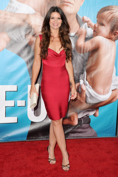 "Danielle Vasinova arrives at the premiere of Universal Pictures' ""The Change-Up"" held at the Regency Village Theatre on August 1, 2011 in Los Angeles, California."