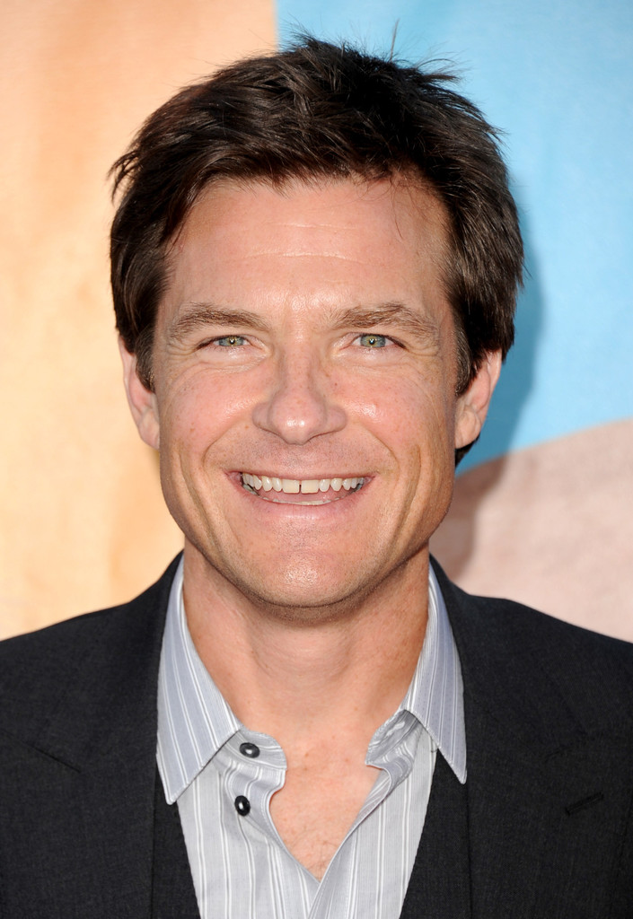 "Jason Bateman Celebrates Two Emmy Nods With Wife At Ozark: Jason Bateman In Premiere Of Universal Pictures' ""The"