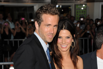 """Sandra Bullock Ryan Reynolds Premiere Of Universal Pictures' """"The Change-Up"""" - Arrivals"""
