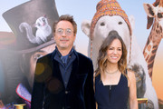 "(L-R) Robert Downey Jr. and Susan Downey attend the Premiere of Universal Pictures' ""Dolittle"" at Regency Village Theatre on January 11, 2020 in Westwood, California."