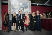 """Stephen Lang and family arrive at the premiere Of Universal Pictures' """"Mortal Engines"""" at Regency Village Theatre on December 5, 2018 in Westwood, California."""