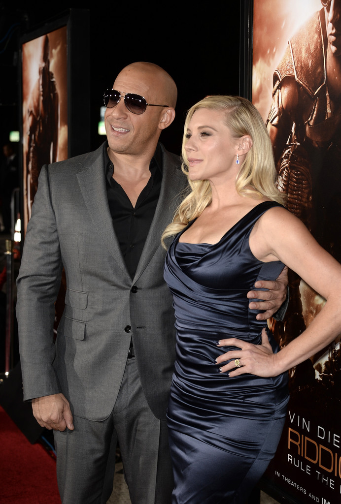 Vin Diesel And Katee Sackhoff Photos Photos Riddick