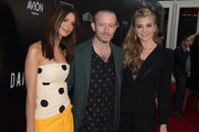 """Emily Ratajkowski, Anthony Byrne and Natalie Dormer attend the premiere of Vertical Entertainment's """"In Darkness"""" at ArcLight Hollywood on May 23, 2018 in Hollywood, California."""