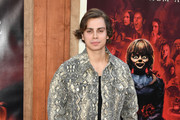"Jake T. Austin attends the Premiere Of Warner Bros' ""Annabelle Comes Home"" at Regency Village Theatre on June 20, 2019 in Westwood, California."