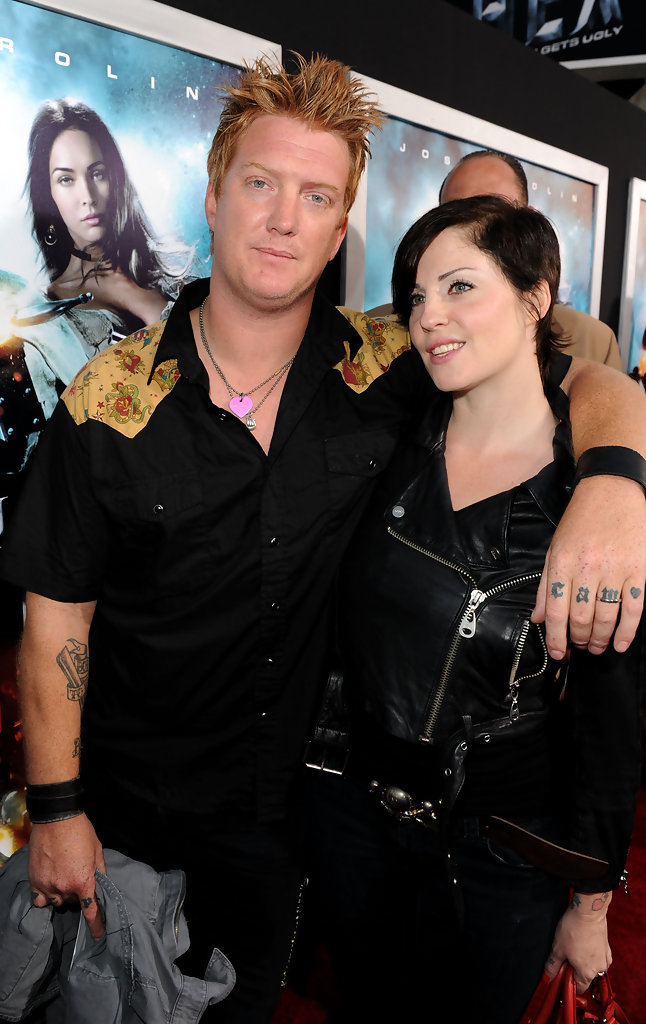 josh homme and brody dalle photos photos premiere of