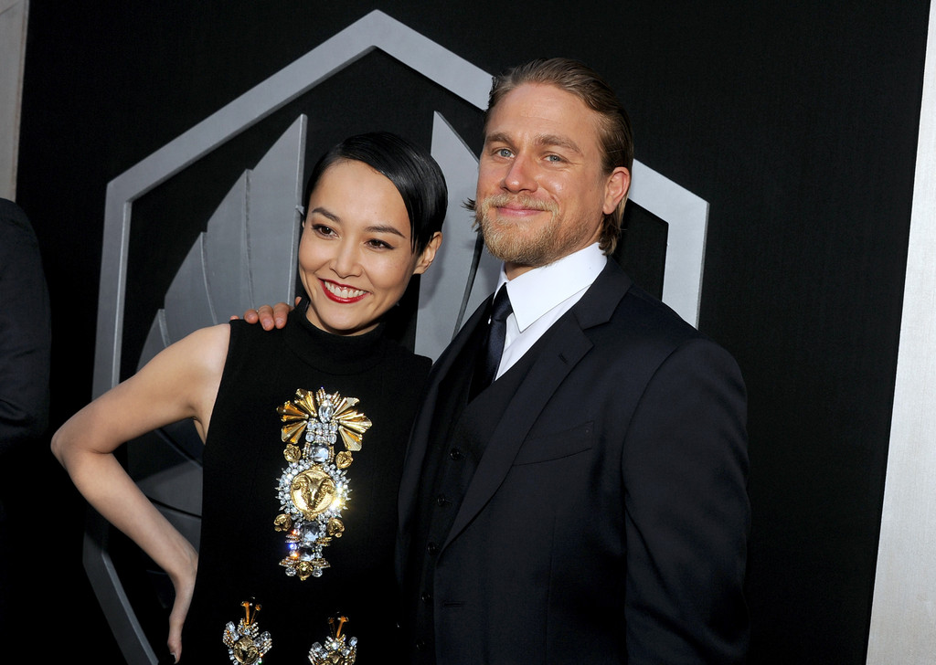 Charlie Hunnam and Rin...