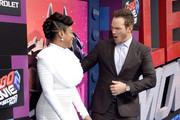 Tiffany Haddish and Chris Pratt Photos Photo