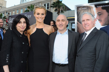 """Jeff Robinov Sue Kroll Premiere Of Warner Bros. Pictures' """"The Lucky One"""" - Red Carpet"""