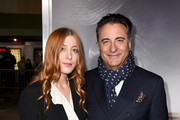 """Andy Garcia (R) and his daughter Daniella Garcia-Lorido arrive at the premiere of Warner Bros. Pictures' """"The Mule"""" at the Village Theatre on December 10, 2018 in Los Angeles, California."""